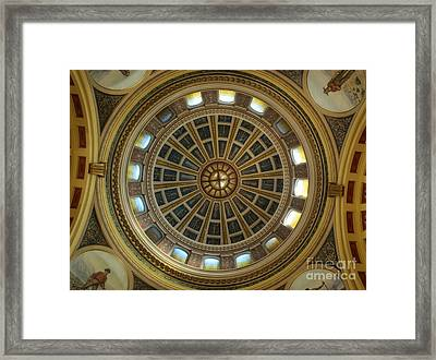 Montana State Capitol Framed Print
