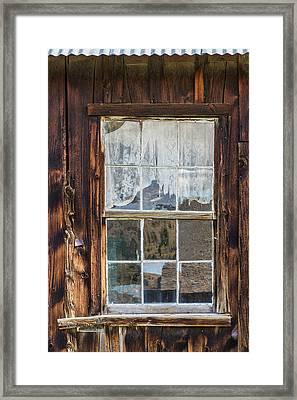 Montana, Virginia City Framed Print