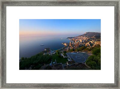 Monte Carlo Framed Print by Ioan Panaite