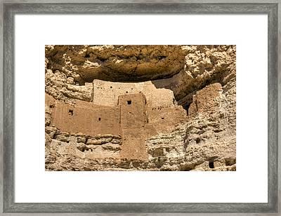 Montezumas Castle 16 Framed Print by Douglas Barnett