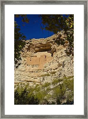 Montezumas Castle 8 Framed Print by Douglas Barnett