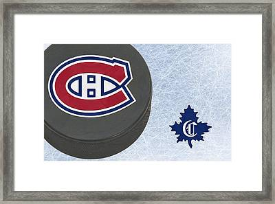 Montreal Canadians Framed Print by Joe Hamilton