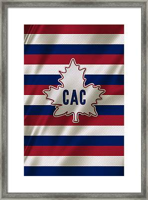 Montreal Canadiens Uniform Framed Print