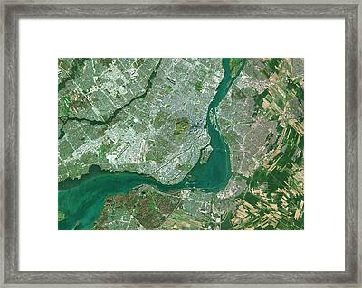 Montreal Framed Print by Planetobserver