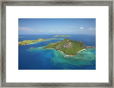 Monu Island, Mamanuca Islands, Fiji Framed Print