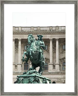Monument Framed Print by Evgeny Pisarev
