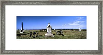 Monument To Battery B, First New York Framed Print by Panoramic Images