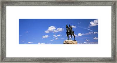 Monument To Maj. Gen. George G. Meade Framed Print by Panoramic Images