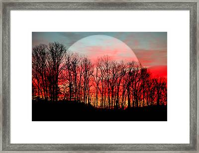 Moon Dance Framed Print by Karen Wiles