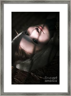 Moon Lit Face Framed Print by Jorgo Photography - Wall Art Gallery