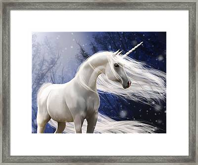 Moonbeam The Second Framed Print by Kate Black