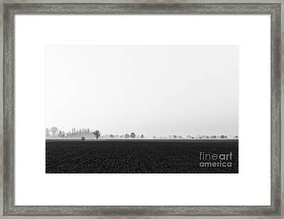 Moonland Framed Print