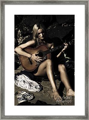 Moonlight Music Framed Print by Jorgo Photography - Wall Art Gallery