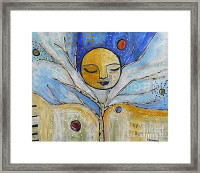Moonspell Framed Print by Shannon Crandall