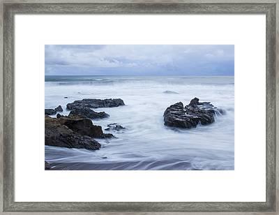 Moonstone Beach Surf 1 Framed Print