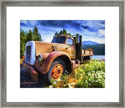 Moose Pass Limo Framed Print by David Wagner