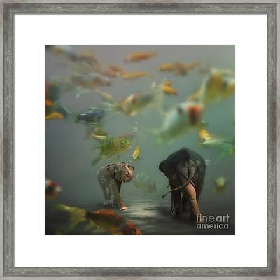 Mornin' Framed Print by Martine Roch