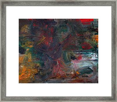Morning Bird Framed Print by Oscar Penalber