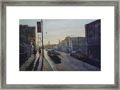 Morning Framed Print by Helal Uddin