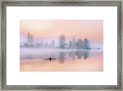 Morning Solitude Framed Print