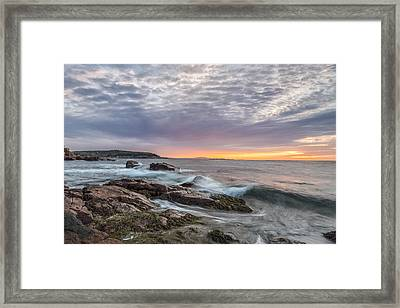 Morning Splash Framed Print by Jon Glaser