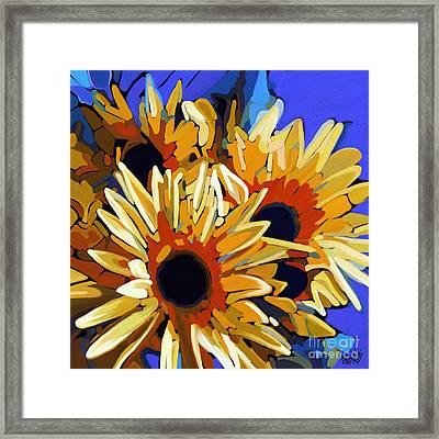 Morning Sunshine Framed Print by Dorinda K Skains