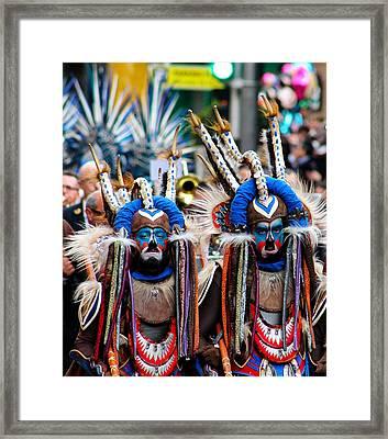 Moros Y Cristianos Framed Print