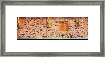 Mosaic, Wat Xien Thong, Luang Prabang Framed Print by Panoramic Images