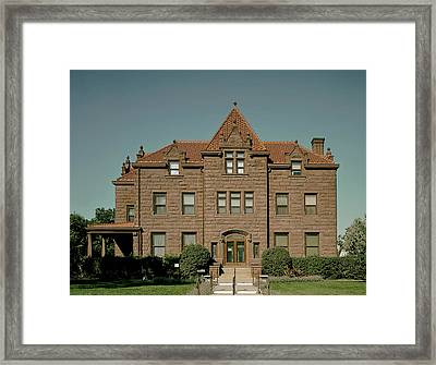 Moss Mansion - Billings Montana Framed Print by Mountain Dreams