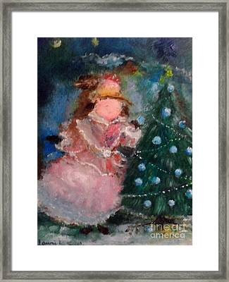 Mother Christmas Framed Print by Laurie L