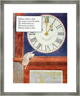Mother Goose, 1915 Framed Print by Granger