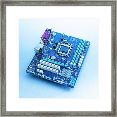 Motherboard Framed Print