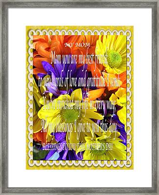 Mothers Day Cards Framed Print by Debra     Vatalaro