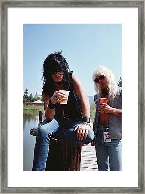 Motley Crue/ Us Festival '83 #1 Framed Print