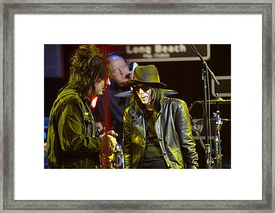 Motley Crue Framed Print by Don Olea