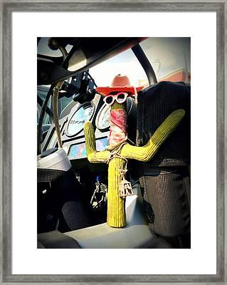 Motorcycle Talisman Framed Print by Patricia Januszkiewicz