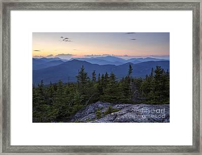 Mount Chocorua Scenic Area - Albany New Hampshire Usa Framed Print