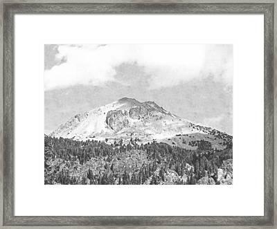 Mount Lassen Framed Print by Frank Wilson