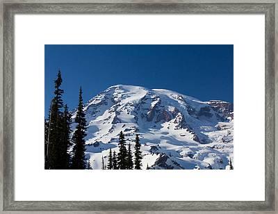 Mount Ranier Framed Print