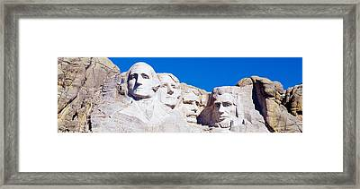 Mount Rushmore, South Dakota, Usa Framed Print by Panoramic Images