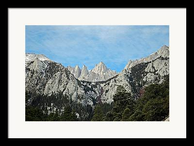 Kings Canyon National Park Framed Prints