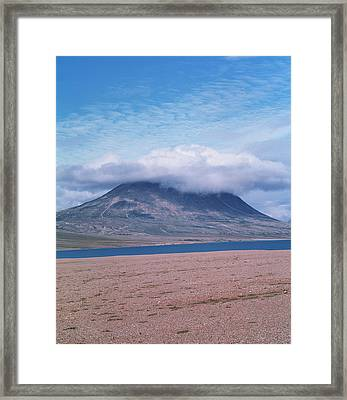 Mountain Cloud Framed Print by Simon Fraser/science Photo Library