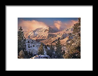 Sierra Framed Prints