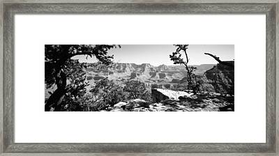 Mountain Range, Mather Point, South Framed Print