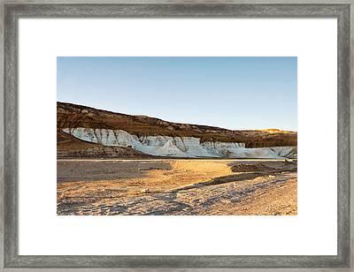 Mountains In The Desert. Framed Print by Alexandr  Malyshev
