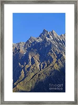 Mountains Of The Karakoram Framed Print by Robert Preston