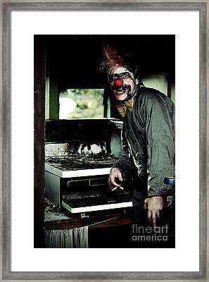 Mr Bungle The Kitchen Clown Framed Print by Jorgo Photography - Wall Art Gallery