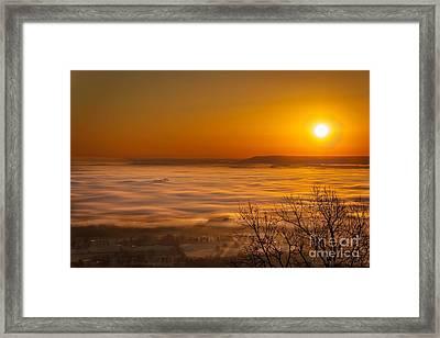 Mt. Nebo Framed Print