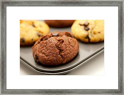 Framed Print featuring the photograph Muffins by Fabrizio Troiani