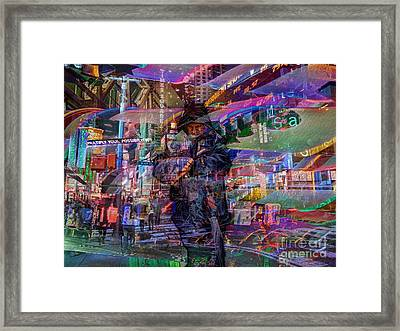 Multiply Your Possibilities Framed Print by Jeff Breiman